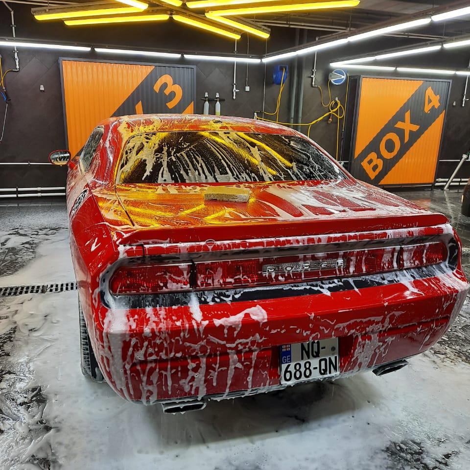 Чистый автомобиль — это красивый автомобиль!